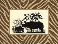Serengeti Silhouette II Fine Art Print