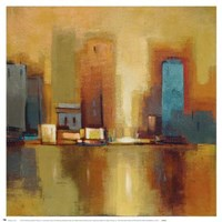 City Reflections II Fine Art Print