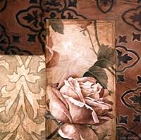 Linen Roses I Framed Print