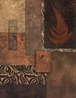 Exotic Fern II Framed Print