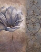 Fleur Bleue II Fine Art Print