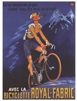 Cycles Royal Fabric Fine Art Print