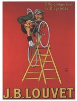 Cycles Louvet Fine Art Print