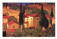 Terracotta Vista Fine Art Print