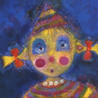 Petit Clown Nina Fine Art Print