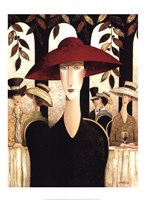 The Red Hat Fine Art Print
