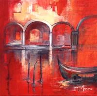 Venise Mysterieuse II Fine Art Print