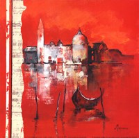 Venise Reflets Fine Art Print