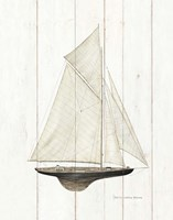 Sailboat I Fine Art Print