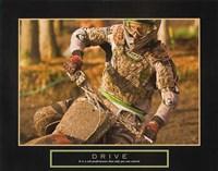 Drive – Motorcross Fine Art Print