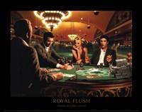 Royal Flush Framed Print