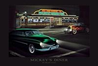 Mickey'S Diner Fine Art Print