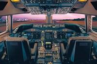 Boeing 747-400 Flight Deck Fine Art Print