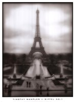 Eiffel No.1 Framed Print