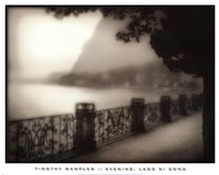 Evening, Lago Di Como Fine Art Print