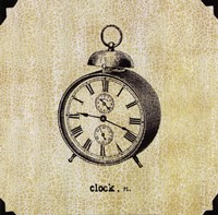 Office Clock Fine Art Print