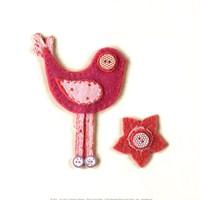 Fuzzy Bird I Fine Art Print
