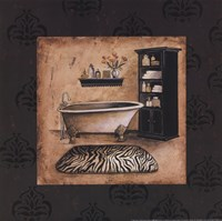 Bath Time II Framed Print