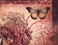 Le Rose A Monte II Fine Art Print