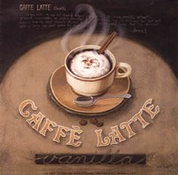Cafe-Latte Framed Print