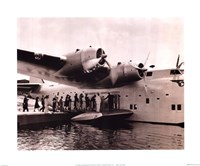 Clipper Flying Boat Fine Art Print