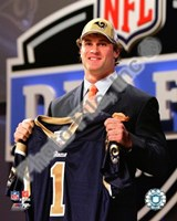Chris Long 2008 Draft Day -  NFL Draft # 2 Pick Fine Art Print