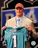 Jake Long 2008 Draft Day - NFL Draft # 1 Pick Fine Art Print