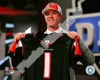 Matt Ryan Draft Day - 2008 NFL Draft # 3 Pick Fine Art Print