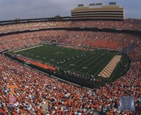 Neyland Stadium University of Tennessee; 2005 Framed Print
