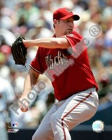 Brandon Webb 2008 Pitching Action Fine Art Print