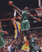 Kevin Garnett, Game 4 of the 2008 NBA Finals; Action #16 Fine Art Print