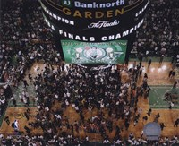 TD Banknorth Garden, Game 6 of the 2008 NBA Finals; Celebration #28 Fine Art Print