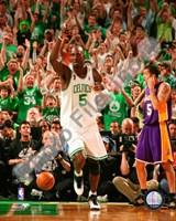 Kevin Garnett, Game Six of the 2008 NBA Finals; Action #26 Fine Art Print
