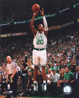 Ray Allen, Game Six of the 2008 NBA Finals; Action #24 Fine Art Print
