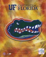 University of Florida Gators 2008 Logo Fine Art Print