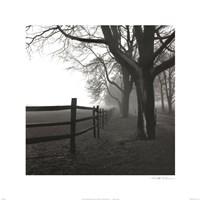 Corner Fence Framed Print