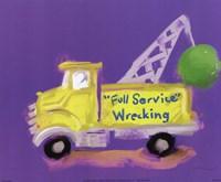 Full Service Wrecking Framed Print