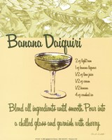 Banana Daiquiri Fine Art Print