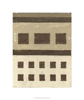 Quadrate I Framed Print