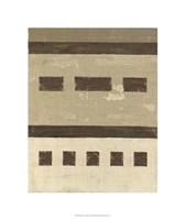Quadrate IV Framed Print