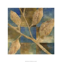 Burnished Branch IV Framed Print