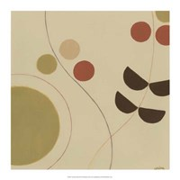Autumn Orbit III Framed Print