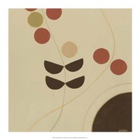 Autumn Orbit IV Framed Print