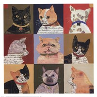 Nine Lives Fine Art Print