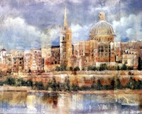 Old City Fine Art Print