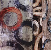 Retro Abstract II Fine Art Print