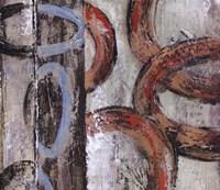 Retro Abstract III Fine Art Print