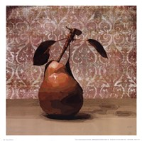 Pear and Patterns Fine Art Print