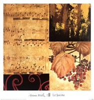 Autumn Waltz II Framed Print