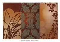 Bronze Filagree Fine Art Print